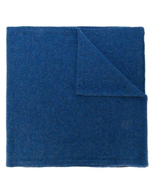メンズ Dell'Oglio カシミアストール Blue
