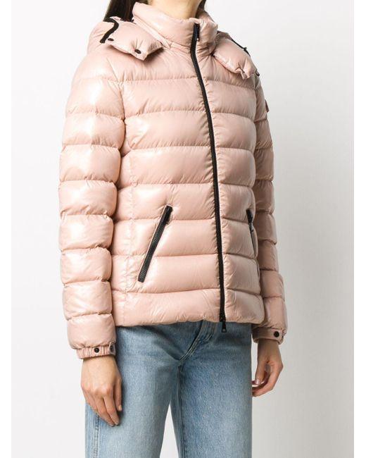 Moncler フーデッド パデッドジャケット Pink