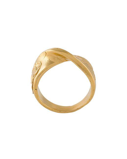 Alighieri | Metallic The Reckless Pursuit Ring | Lyst