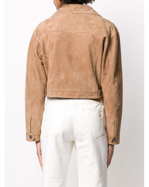 Giuseppe Zanotti オーバーサイズ クロップドジャケット Multicolor