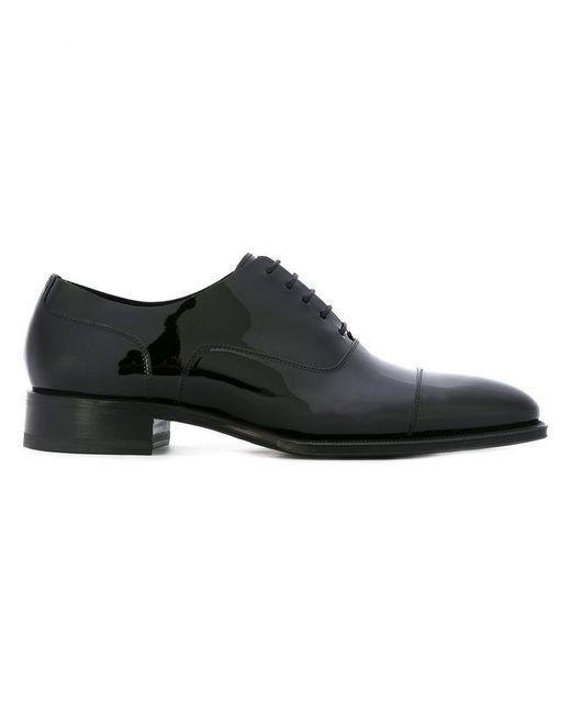 DSquared² - Black 'ubaldo' Oxford Shoes for Men - Lyst