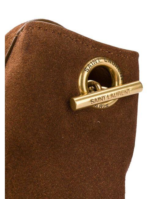 Сумка Kate С Монограммой Saint Laurent, цвет: Brown
