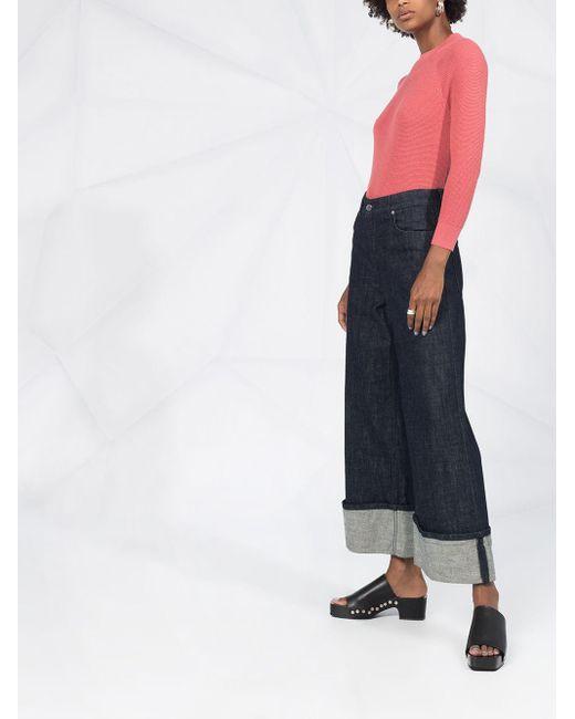 Джемпер Фактурной Вязки Calvin Klein, цвет: Pink