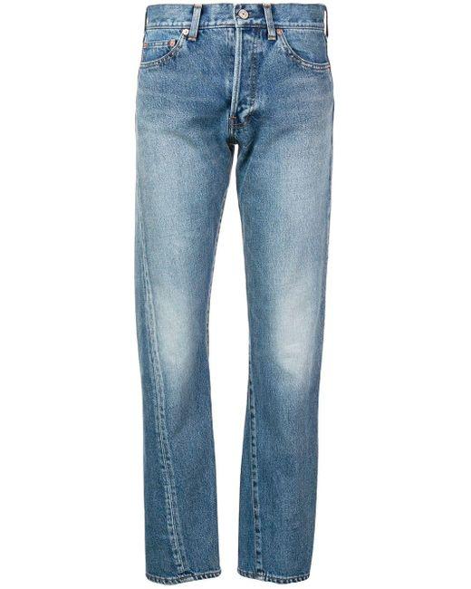 Balenciaga New Twisted Leg ジーンズ Blue