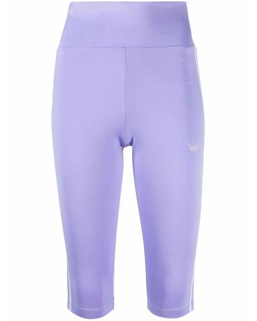 Leggings crop Fakten di Adidas in Purple