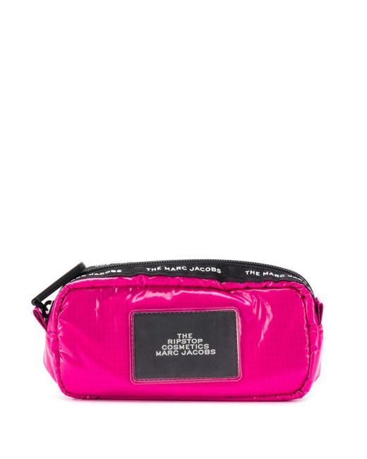 Marc Jacobs ロゴ コスメポーチ Pink
