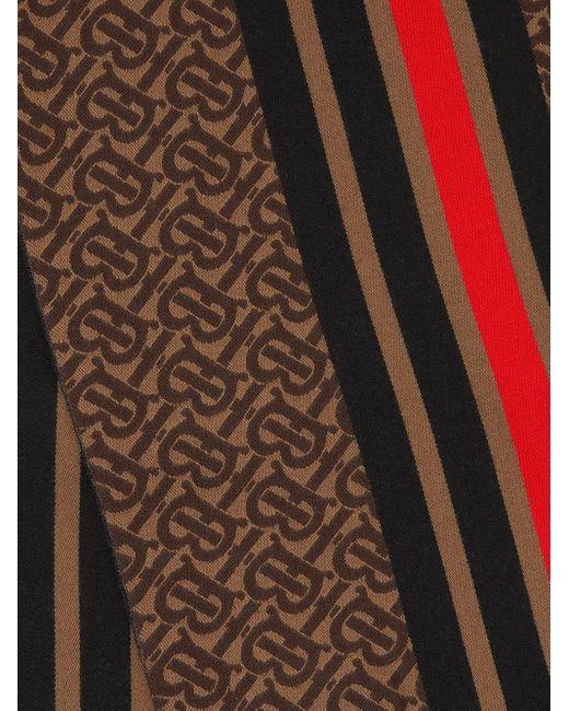 Burberry モノグラム スカーフ Brown