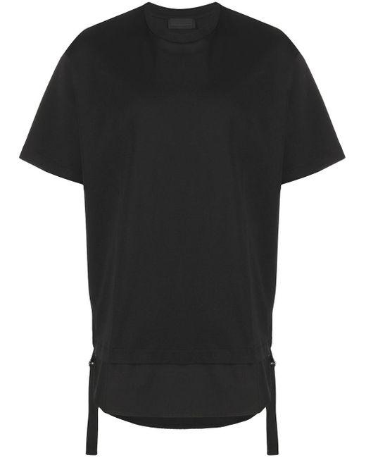 メンズ Diesel Black Gold レイヤード Tシャツ Black