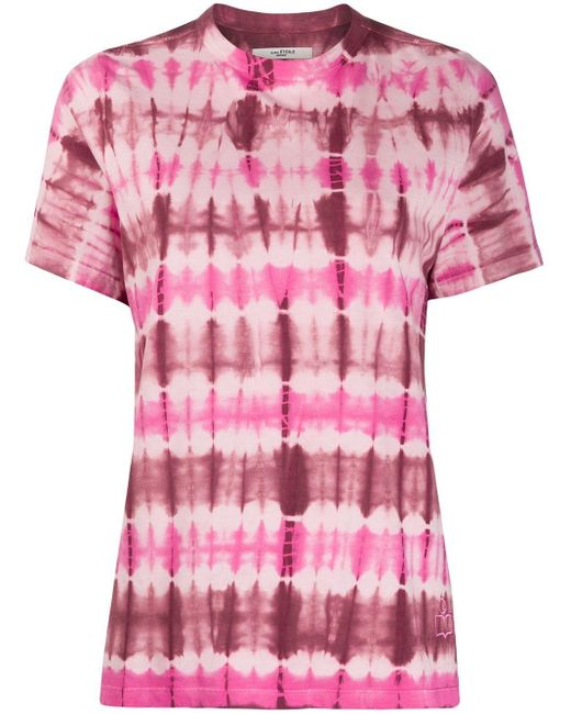 Étoile Isabel Marant Dena タイダイ Tシャツ Pink