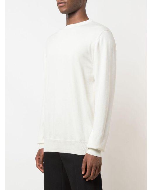 メンズ WARDROBE.NYC Release ファインニット セーター White