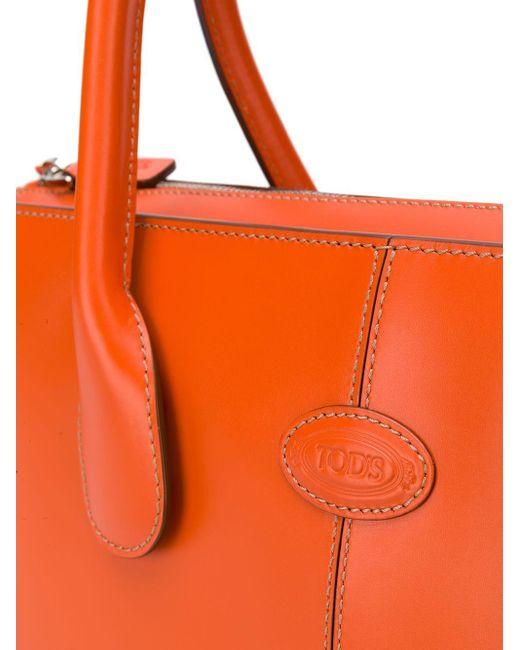 Tod's Joy ハンドバッグ M Orange