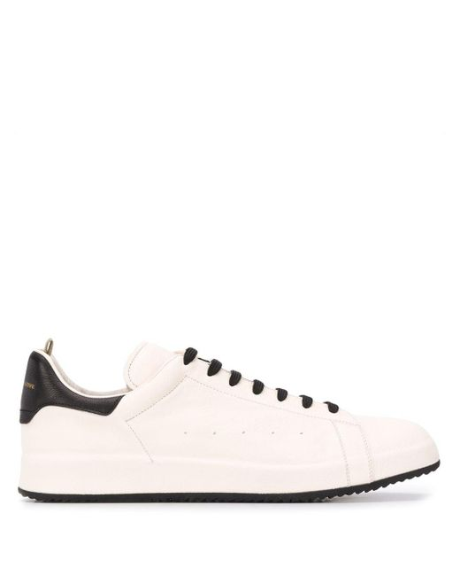 Officine Creative Multicolor Contrast-counter Low Top Trainers for men