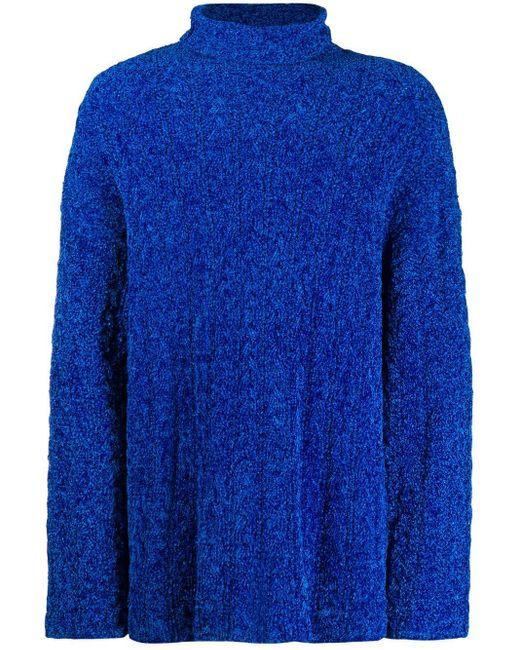 メンズ Balenciaga オーバーサイズ トップ Blue