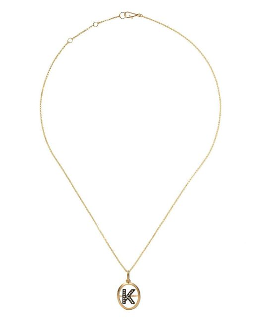 Annoushka K ダイヤモンド ペンダントネックレス 18kイエローゴールド Metallic