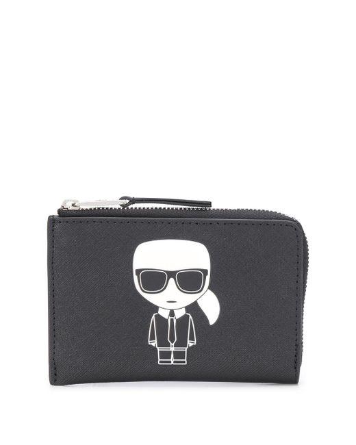 Кошелек K/ikonik Karl Lagerfeld, цвет: Black