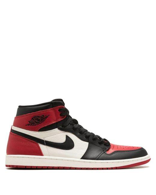 Nike 1 Retro Hi-top Sneakers Red