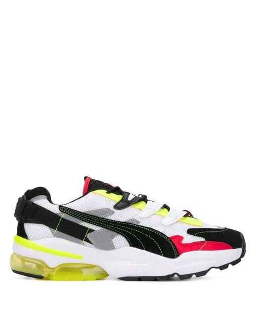PUMA Black X Adder Error Cell Alien Sneakers