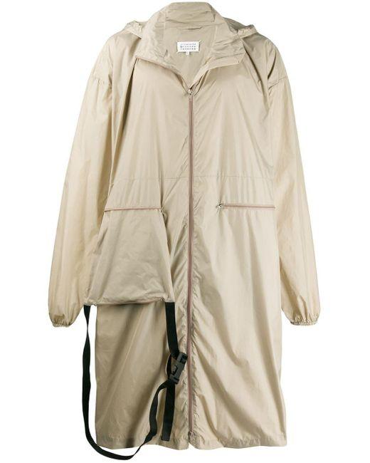 Maison Margiela Natural Maxi Raincoat With Belt Bag for men