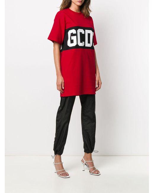 Gcds ロゴプリント Tシャツ Red