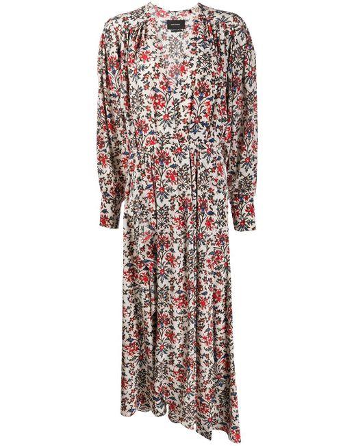 Isabel Marant フローラル ロングドレス Multicolor