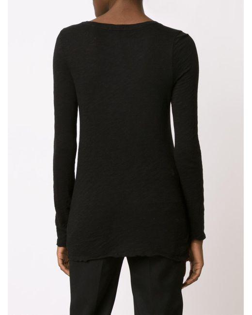 ATM ロングtシャツ Black