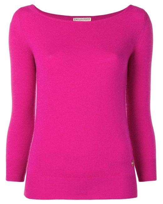 Emilio Pucci カシミア セーター Pink