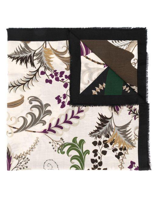 Ferragamo Heritage プリントスカーフ Multicolor