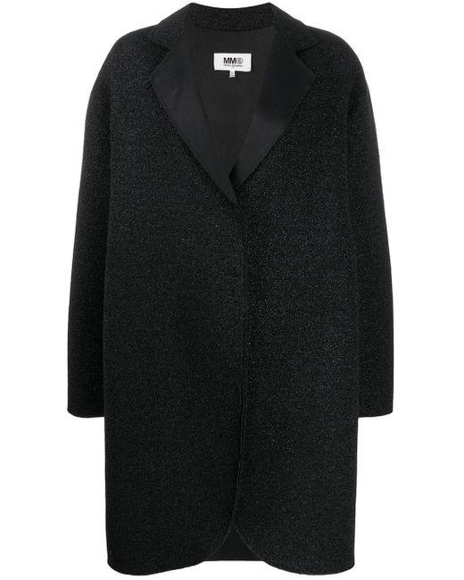 MM6 by Maison Martin Margiela オーバーサイズ コート Black