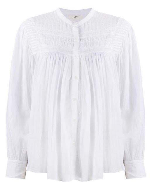 Étoile Isabel Marant Plalia ロングスリーブ シャツ White