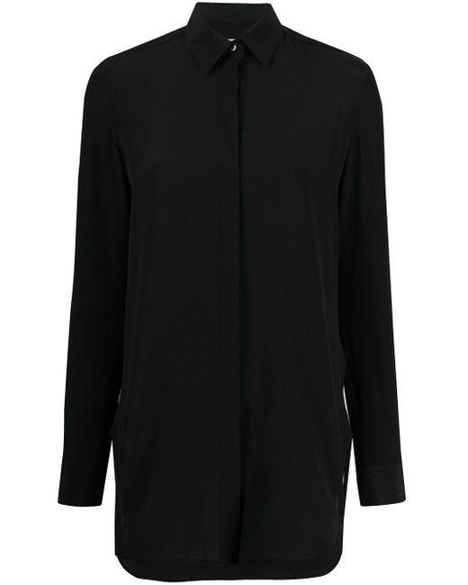 Golden Goose Deluxe Brand オーバーサイズ シルクシャツ Black