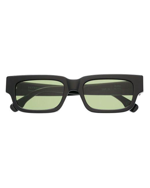 Retrosuperfuture Green Roma Sunglasses for men