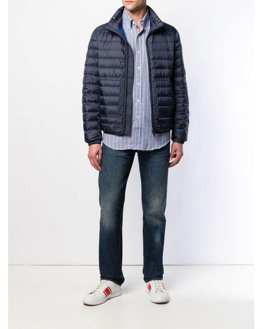 Chemise à carreaux Polo Ralph Lauren pour homme en coloris Blue