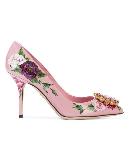 Dolce & Gabbana - Pink Bellucci Pumps - Lyst