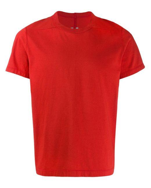 メンズ Rick Owens Tシャツ Red