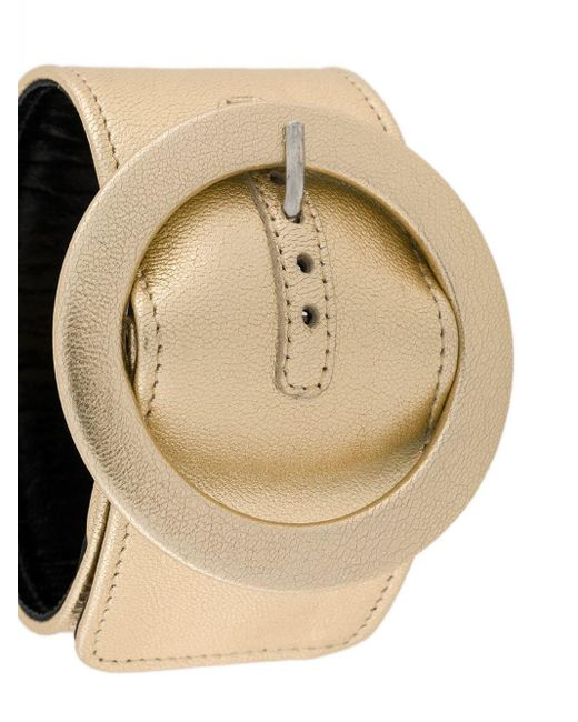 The Attico Metallic Belt Cuff Bracelet