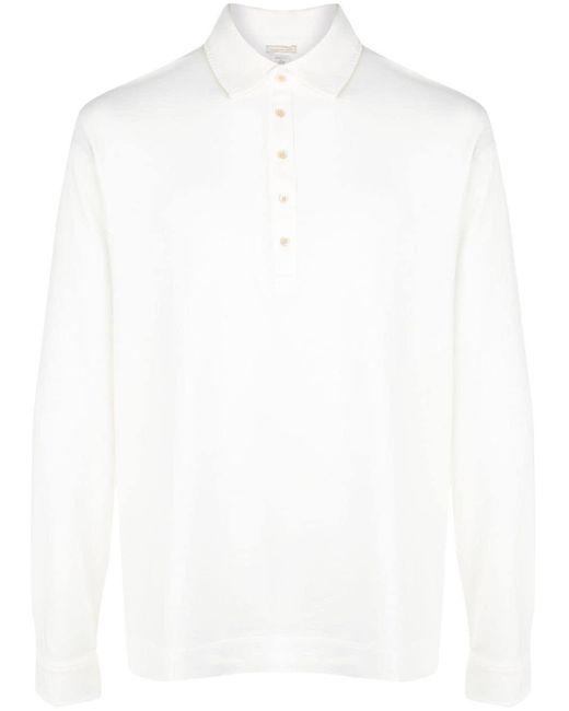 メンズ Massimo Alba Ischia ポロシャツ White