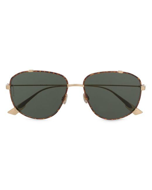 Солнцезащитные Очки-авиаторы Черепаховой Расцветки Dior, цвет: Metallic