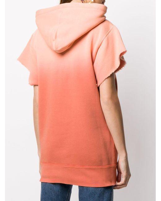 Isabel Marant ショートスリーブ パーカー Orange