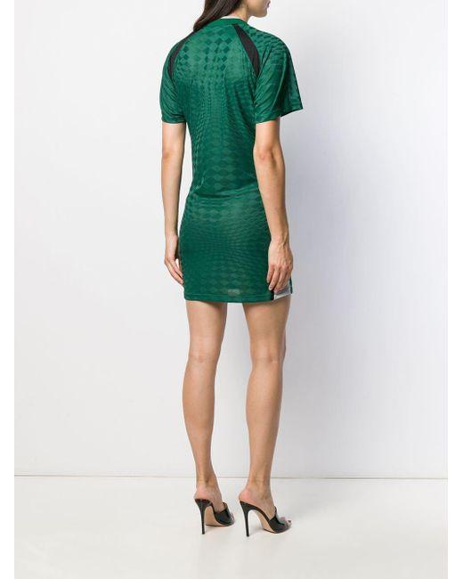 Alexander Wang タイフロント ドレス Green