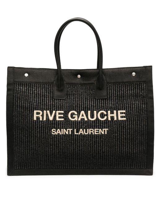 Сумка-тоут Rive Gauche Saint Laurent, цвет: Black