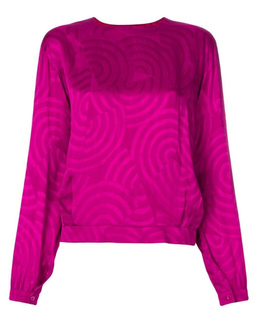 Dior シルクブラウス Pink