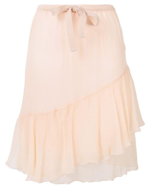 See By Chloé ラッフルスカート Pink