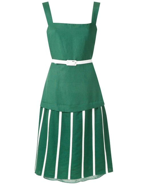 Adriana Degreas Wimbledon ドレス Green