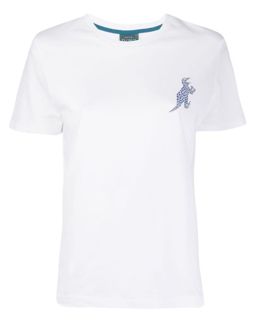 PS by Paul Smith Dino プリント Tシャツ White