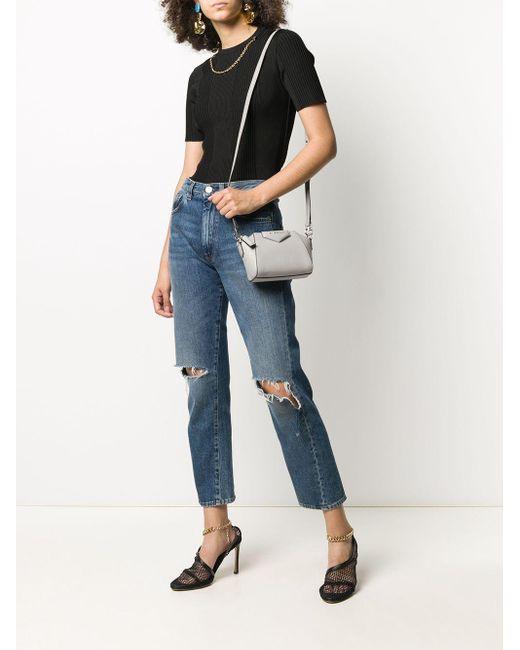 Маленькая Сумка Через Плечо Nano Antigona Givenchy, цвет: Gray