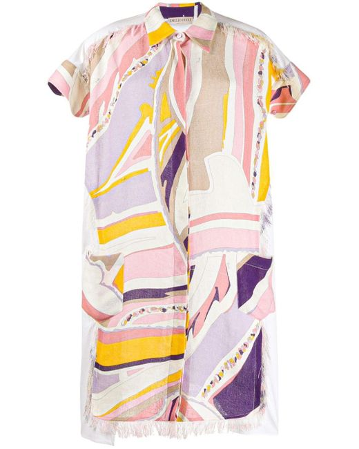 Emilio Pucci プリント ドレス Multicolor