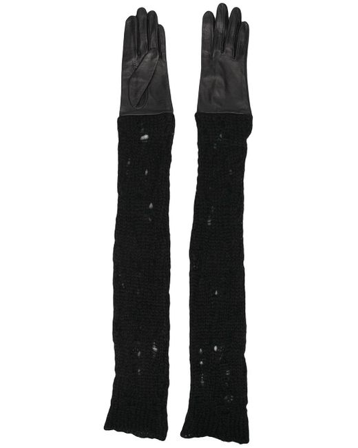 Yohji Yamamoto ロンググローブ Black