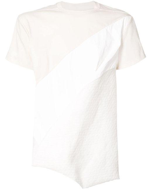 メンズ Rick Owens Inhuman Tシャツ White