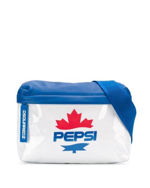 メンズ DSquared² Pepsi ベルトバッグ White