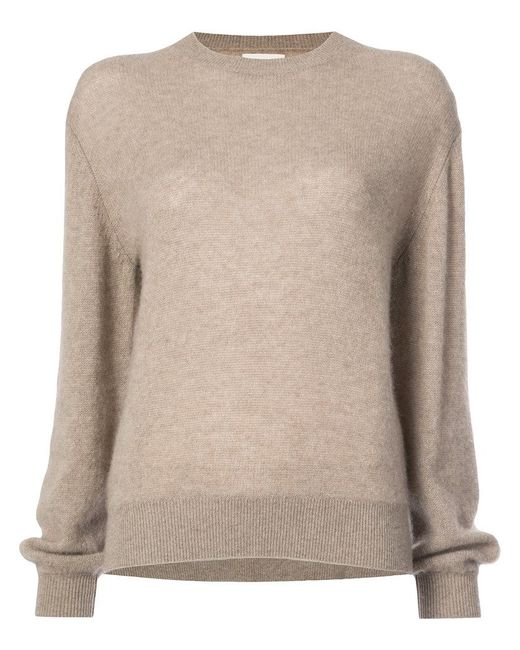 Khaite - Brown Viola Sweater - Lyst
